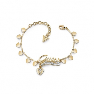 Bracelet Femme Guess Million Hearts doré UBB85139-S