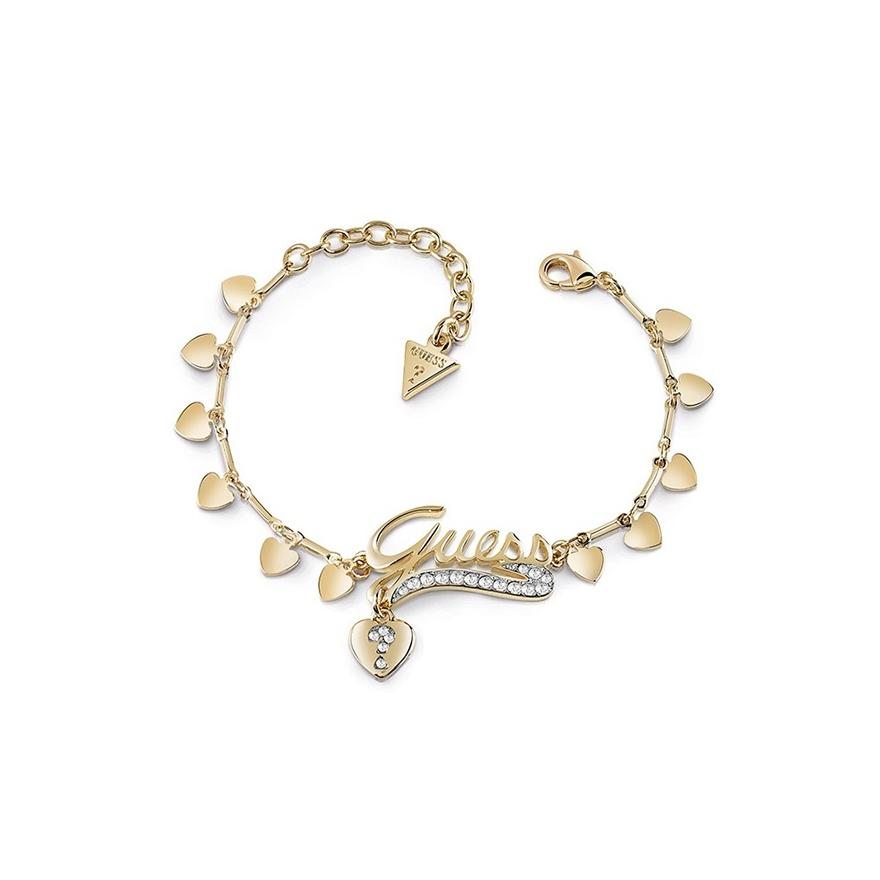 Bracelet Femme Guess Million Hearts doré UBB85139-S pour FEMME 3456654b69b