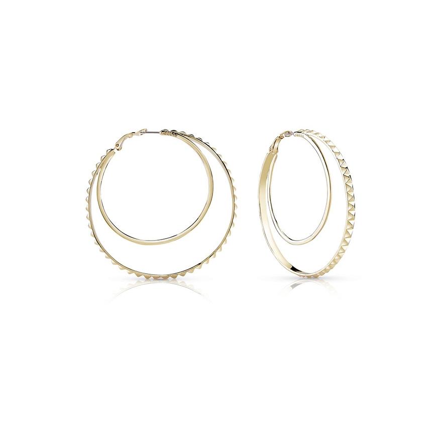 Boucles d oreilles Créoles Guess métal doré UBE84070 pour FEMME 1584cdd7e5c8