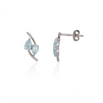 Boucles d'oreilles Carador Or 375/000e Topaze DJE1697