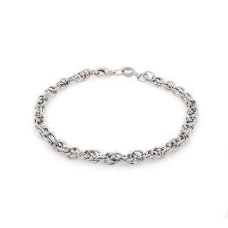 Bracelet souple Carador Maille Corde CRD8018
