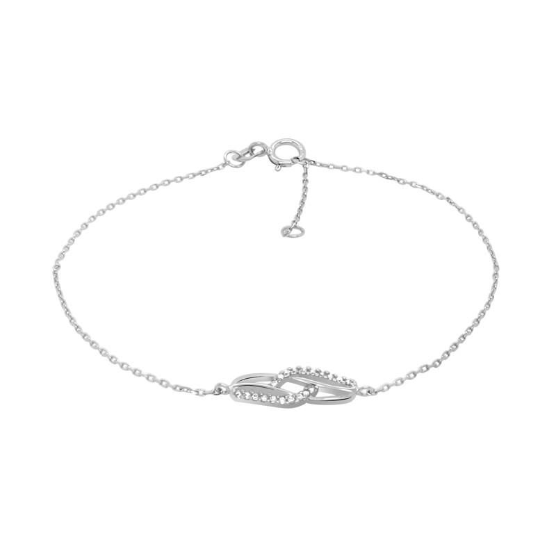 Bracelet Carador Or blanc 375/000 BR375