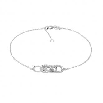 Bracelet Carador double infini BR231