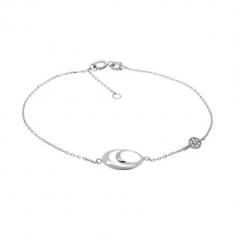 Bracelet Carador Fantaisie Or blanc 375/000e BR118