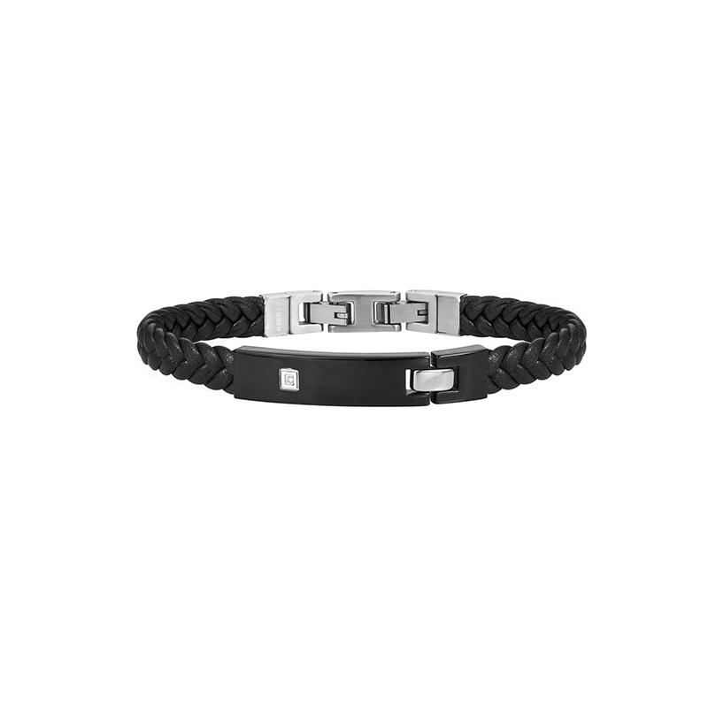 Bracelet Phebus acier diamant