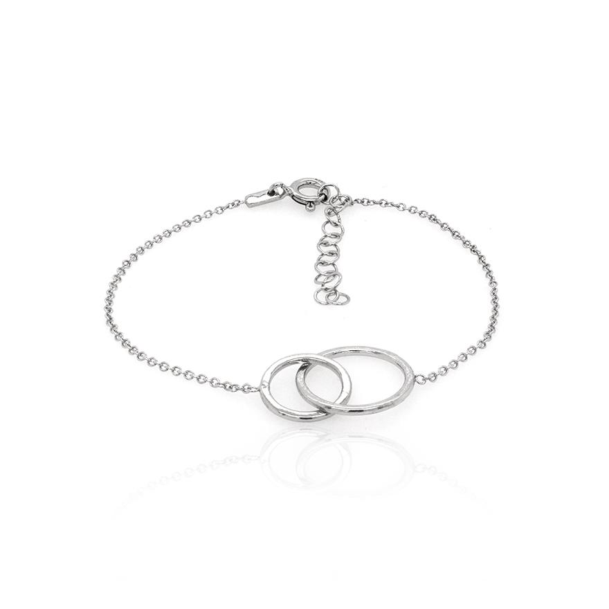 Mbr1775c Entrelaçé Pour Femme Bracelet Carador Argent WEH9ID2
