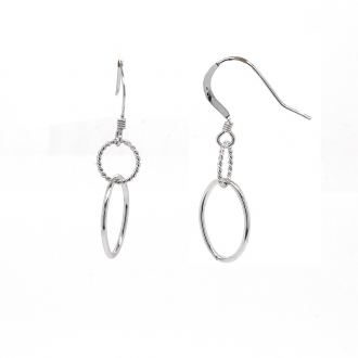 Boucles d'oreilles Carador Originales Argent 10655E8