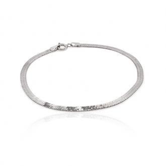 Bracelet maille miroir Carador MGC502L18
