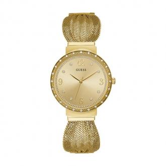 Montre Femme Guess Chiffon dorée W1083L2