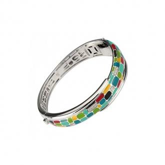 Bracelet Una Storia rectangle multicolore