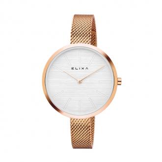 Montre Elixa Beauty acier doré rose E127-L527