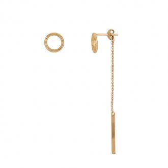 Boucles d'oreilles Trendy Carador plaqué or 22EV0450