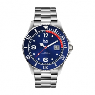Montre Ice-Watch Ice Steel Blue Silver taille M 015771