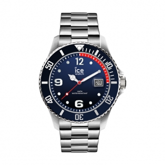Montre Ice-Watch Ice Steel Blue Silver taille L 015775