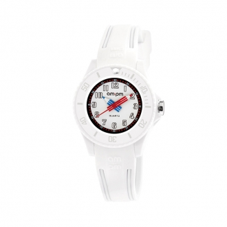 Montre AM:PM blanche collection Kids PM192-K519