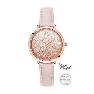 Montre Pierre Lannier La Petite Cristal rose 108G955