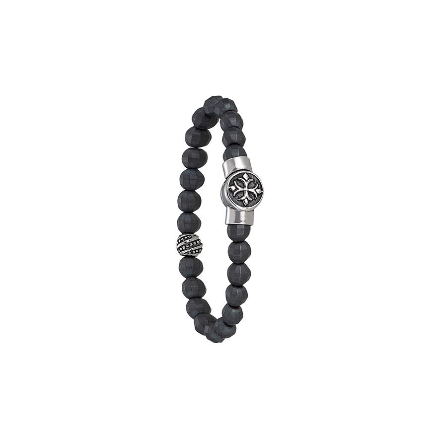 Bracelet Jourdan Bijoux Papayo hématite RC 008 H pour HOMME 179027dca6c7