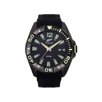 Montre homme All Blacks bracelet silicone 680451