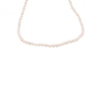 Collier Carador or jaune 375/000 perles de culture