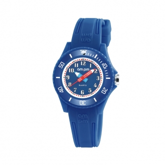Montre AM:PM Bleue collection Kids PM192-K509