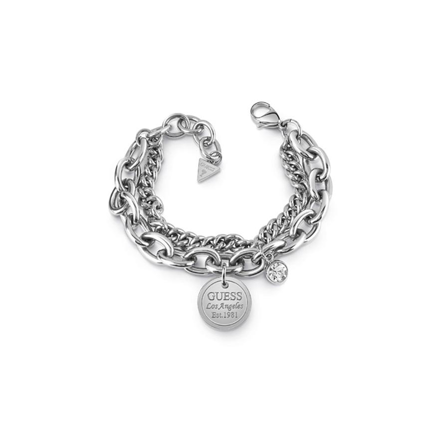 Bracelet femme Guess Los Angeles argenté UBB28067-S pour FEMME a700010f9ea