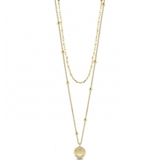 Collier femme Guess Uptown Chic doré UBN28032