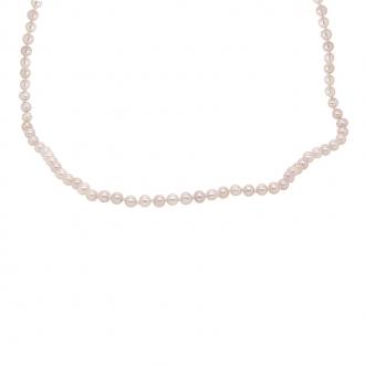Collier Carador or 375/000 petites perles de culture
