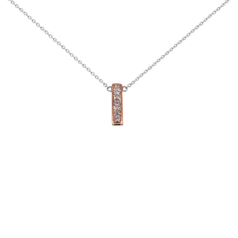 collier diamant barrette