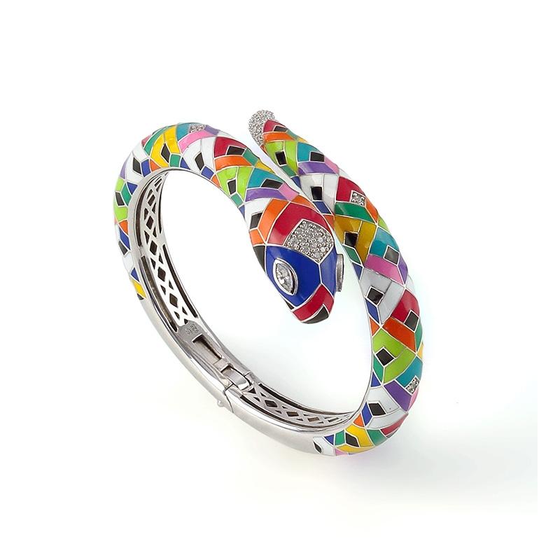 Bracelet jonc Una Storia Snake JO121176