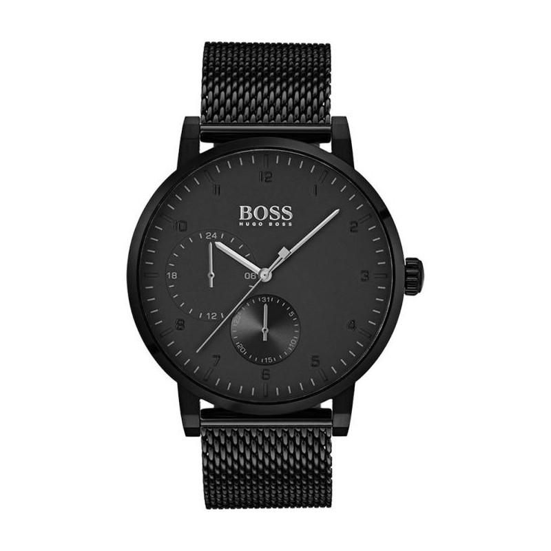 Montre Hugo Boss Oxygen acier noir, cadran noir 1513636