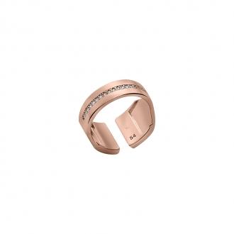 Bague les Georgettes collection Bandeau dorée rose 70318234008056