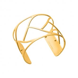 Bracelet Tresse Les Georgettes couleur doré 40 mm 70325680100000