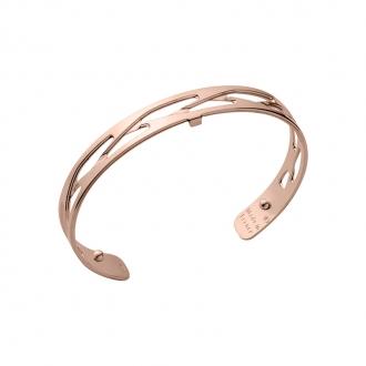 Bracelet Tresse Les Georgettes couleur doré rose 8 mm 70326454000000