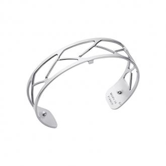 Bracelet Tresse Les Georgettes couleur argenté 14 mm 70325701600000