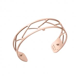 Bracelet Tresse Les Georgettes couleur doré rose 14 mm 70325704000000