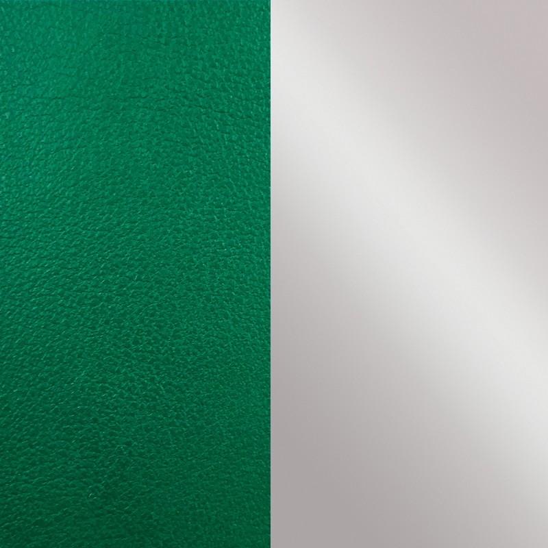 Vinyle pour boucles d'oreilles demi-lune Les Georgettes Vert bouteille/Gris 703218384CI000