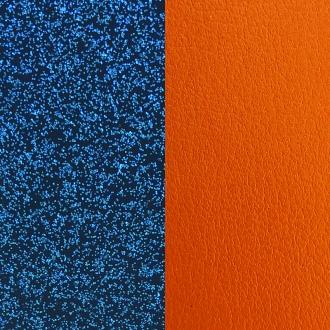 Cuir pour bracelet 14 mm Les Georgettes Glitter bleu/Abricot 702145899CF000