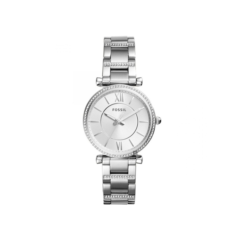 Montre femme Fossil collection Carlie argentée ES4341