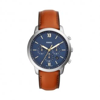 Montre Fossil bracelet cuir marron FS5453
