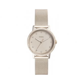 Montre femme Fossil collection Neely or rose ES4364