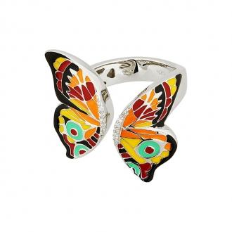 Bague Una Storia Papillon argent 925/000