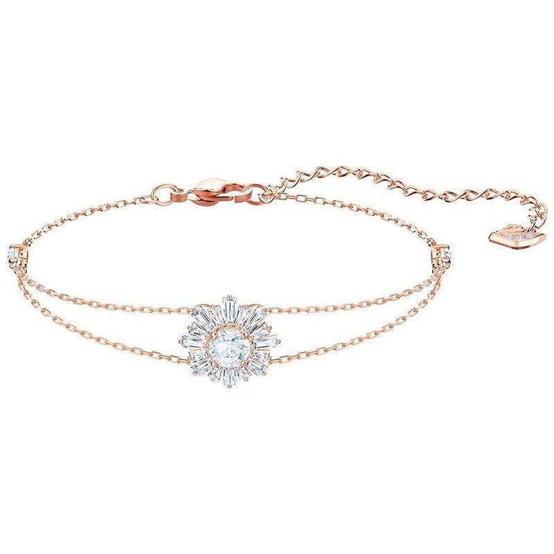 Bracelet Swarovski Sunshine doré rose 5451357