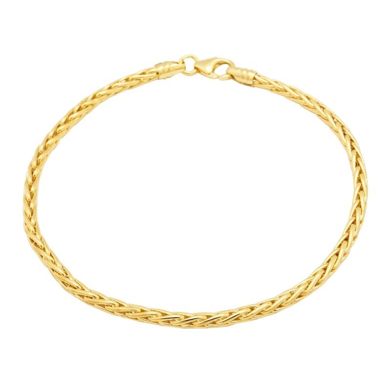 Bracelet Carador or 375/000 maille palmier H29025CNJ18