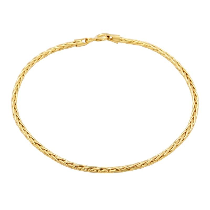 Bracelet Carador or 375/000 maille palmier 2mm H29020CNJ18