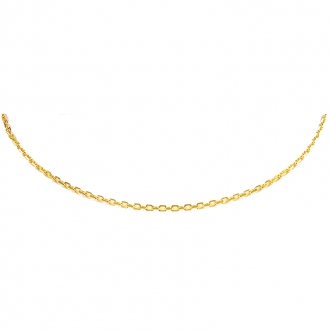 Collier Carador forcat diamante or 375/000 FDI050MNJ40