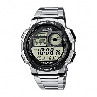 Montre Casio Collection World Time acier AE-1000WD-1AVEF