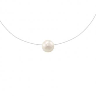 Collier Carador fantaisie souple perle