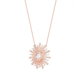 Collier Swarovski SUNSHINE plaqué or rose 5459593