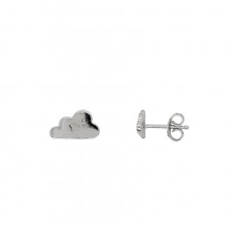 Boucles d'oreilles nuage Carador en argent 925/000