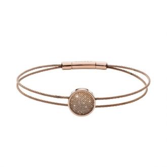 Bracelet skagen en acier doré rose SKJ1176791